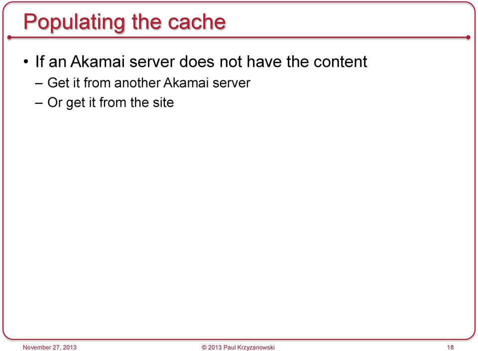 another Akamai server Or get it from the