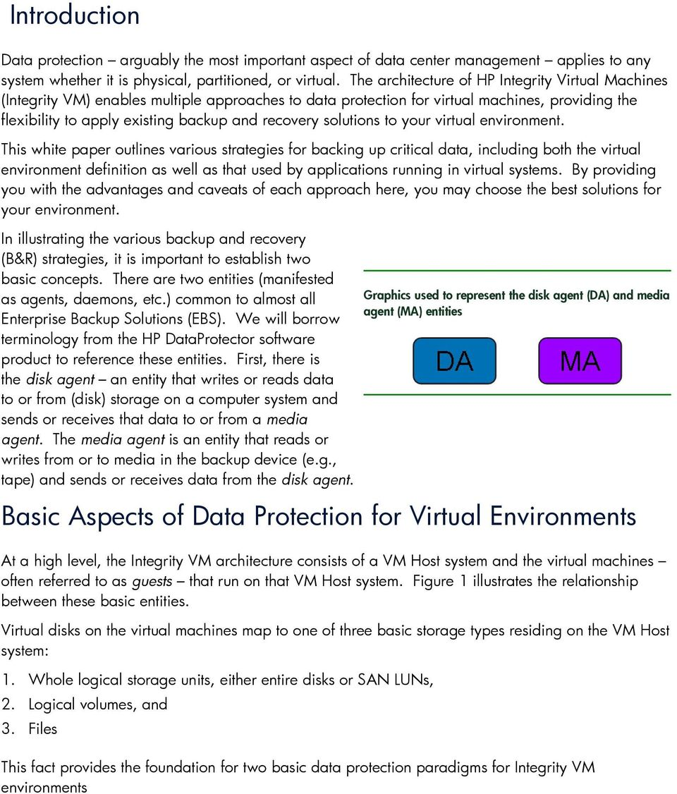 solutions to your virtual environment.