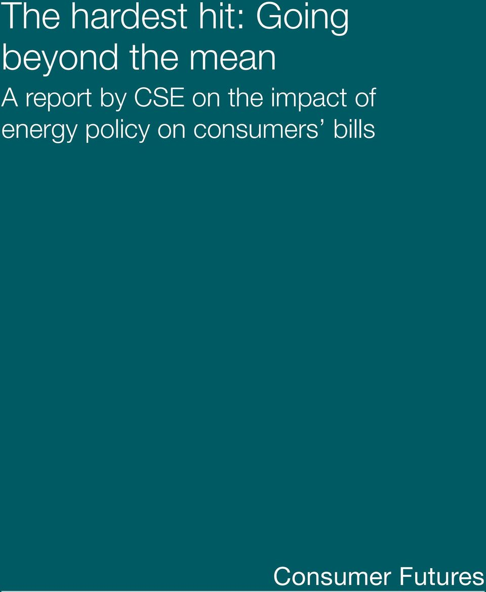 the impact of energy policy on