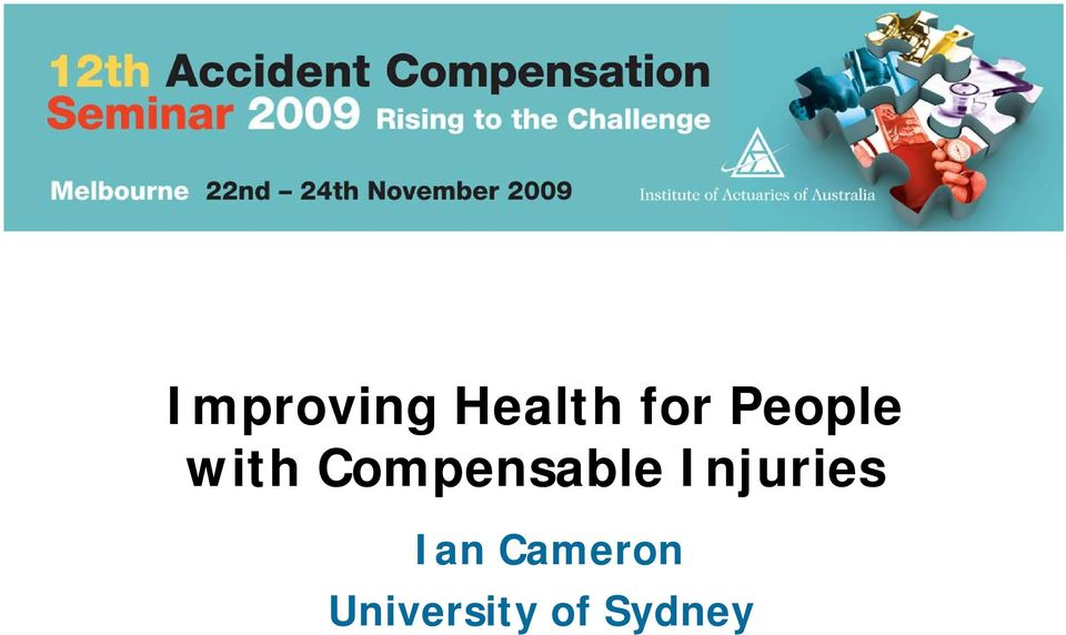 Compensable Injuries