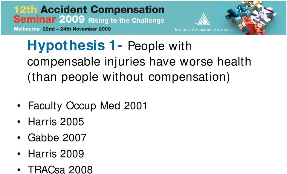 without compensation) Faculty Occup Med