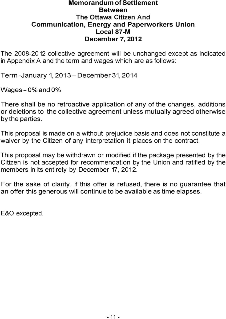 COLLECTIVE AGREEMENT - PDF