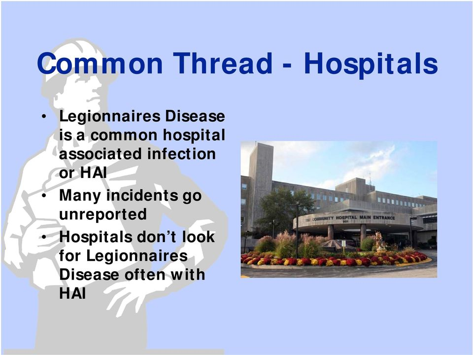 HAI Many incidents go unreported Hospitals don