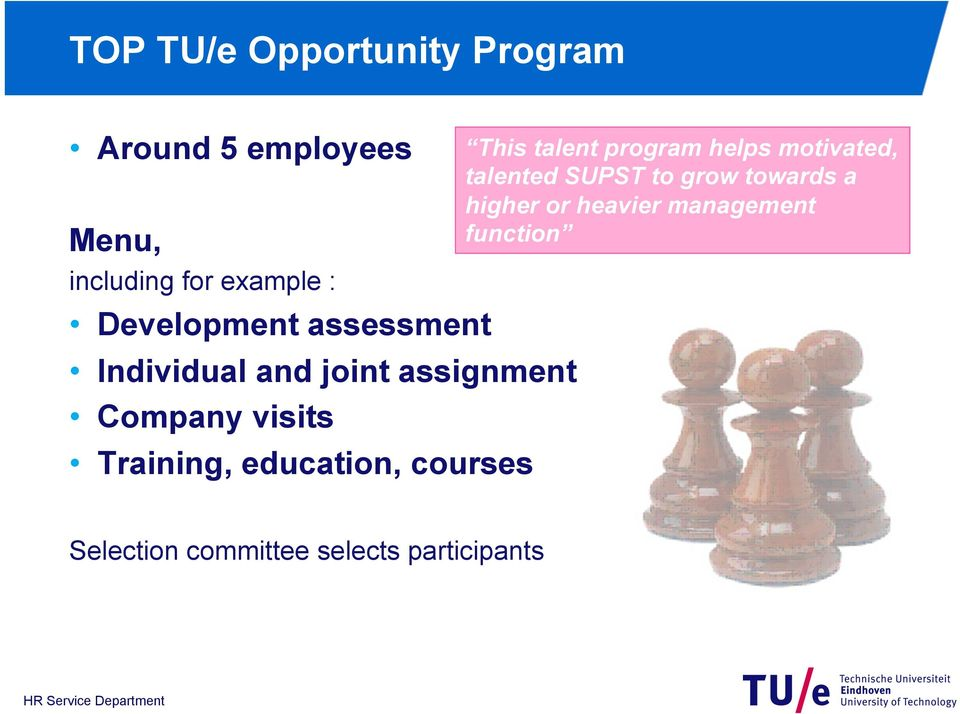 education, courses This talent program helps motivated, talented SUPST to grow