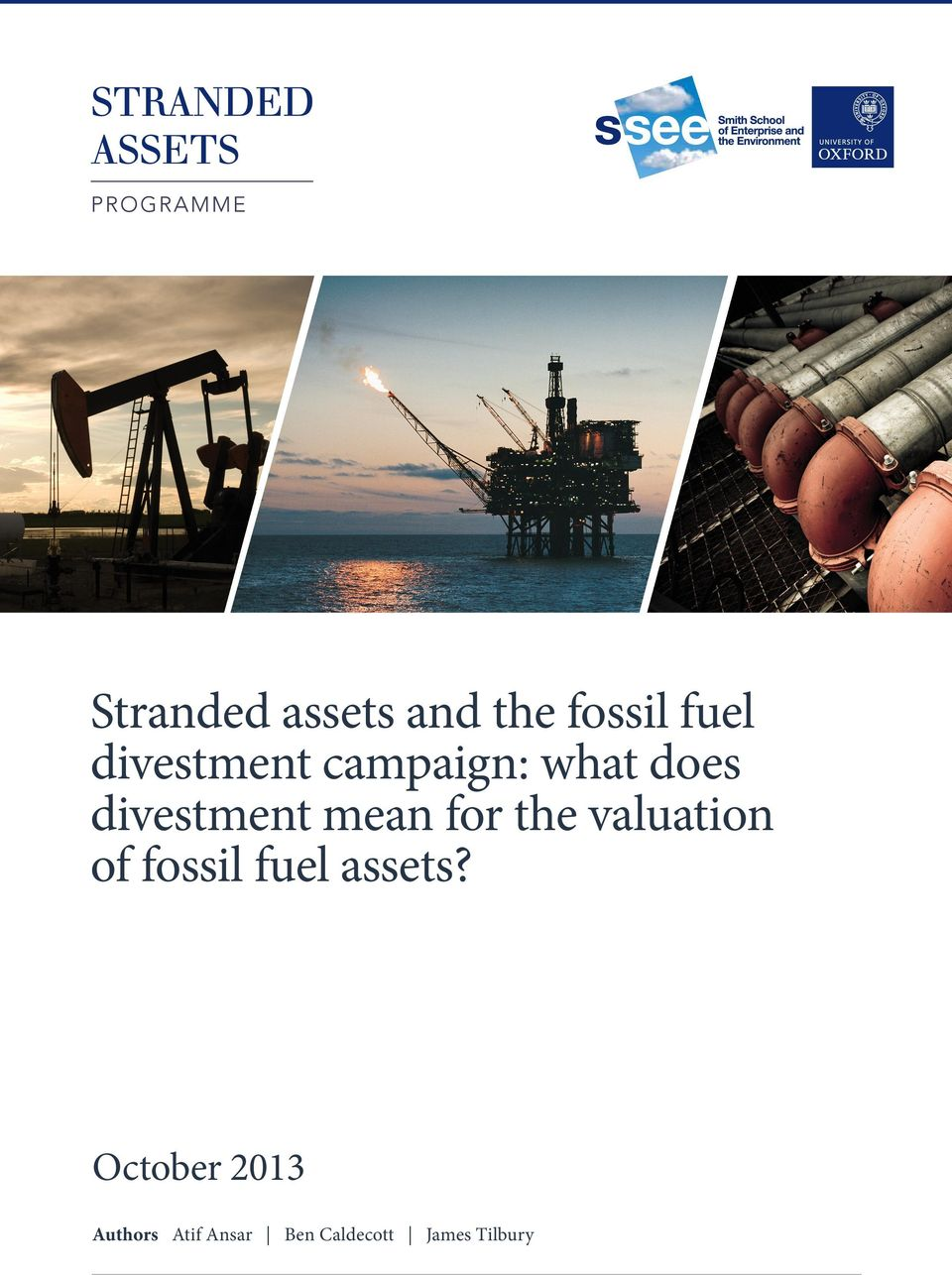 mean for the valuation of fossil fuel assets?