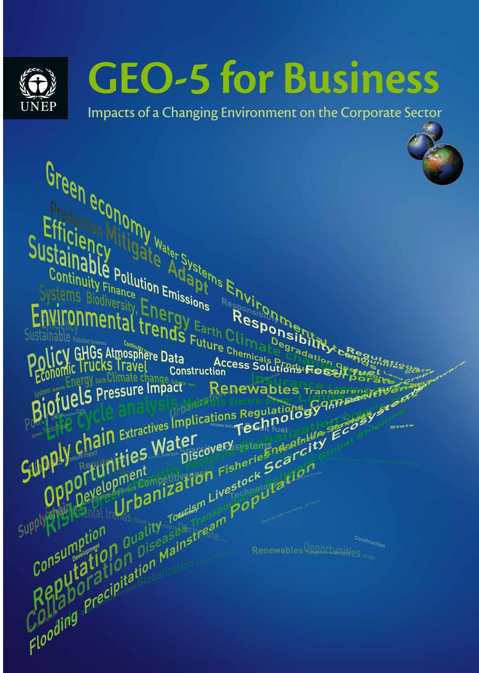 The report assesses the operational, market, reputational, and policy implications of environmental trends on ten business sectors.