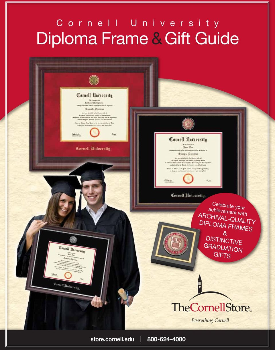 with Archival-quality diploma frames &