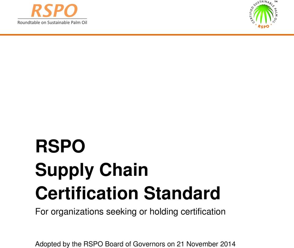 holding certification Adopted by the