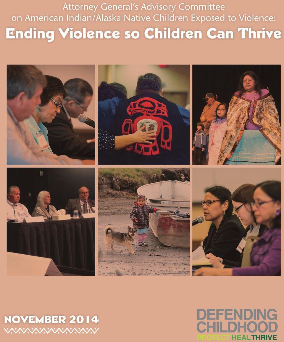 Children Exposed to Violence: Ending