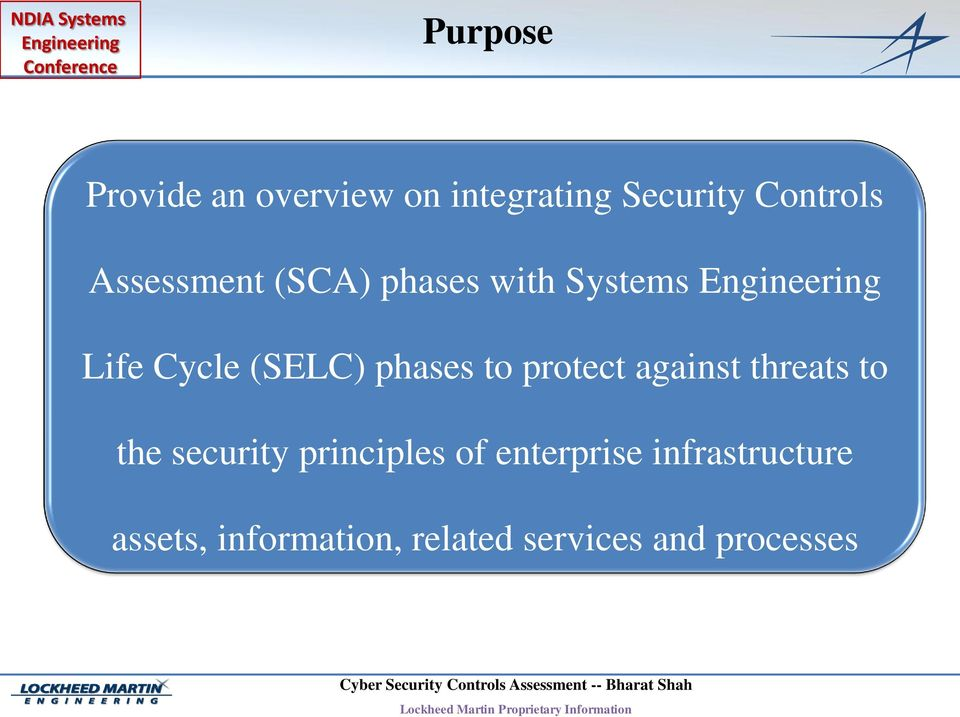 against threats to the security principles of enterprise