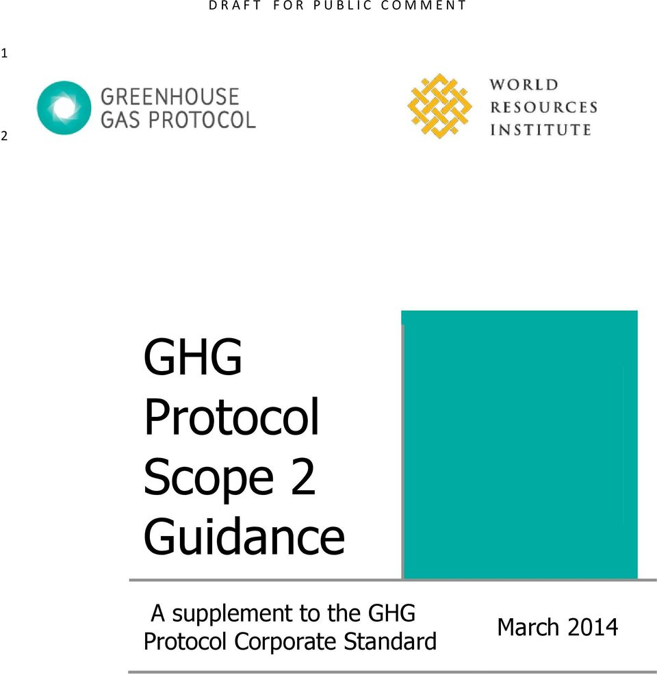 to the GHG Protocol