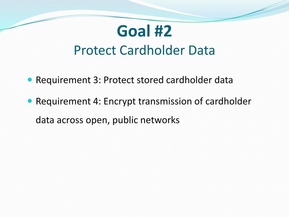 data Requirement 4: Encrypt transmission