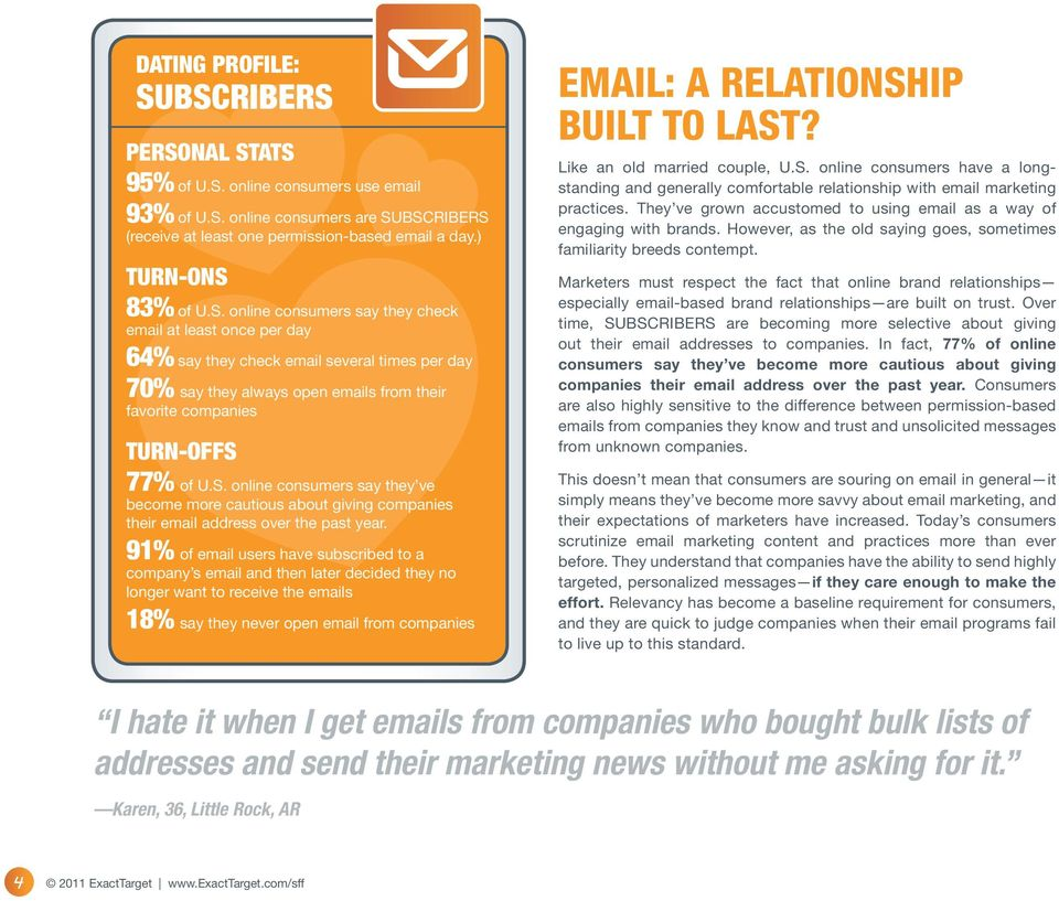 S. online consumers say they ve become more cautious about giving companies their email address over the past year.