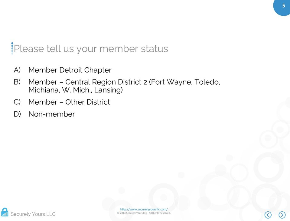 District 2 (Fort Wayne, Toledo, Michiana, W.