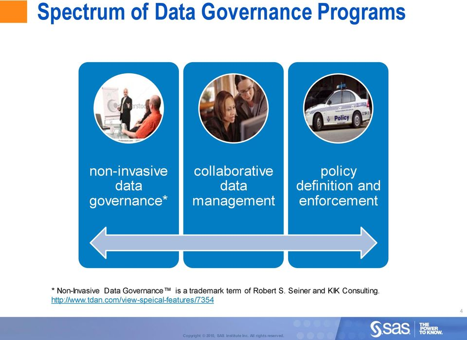 Non-Invasive Data Governance is a trademark term of Robert S.