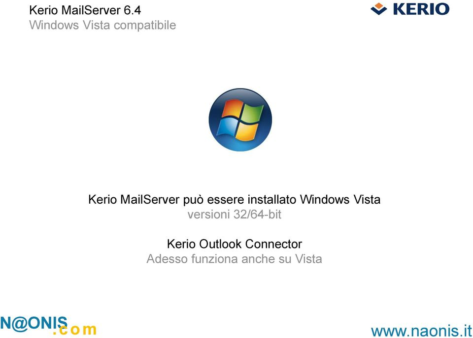 Windows Vista versioni 32/64-bit