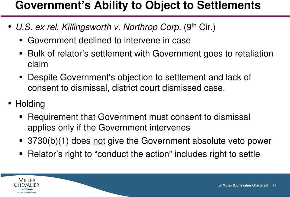 objection to settlement and lack of consent to dismissal, district court dismissed case.
