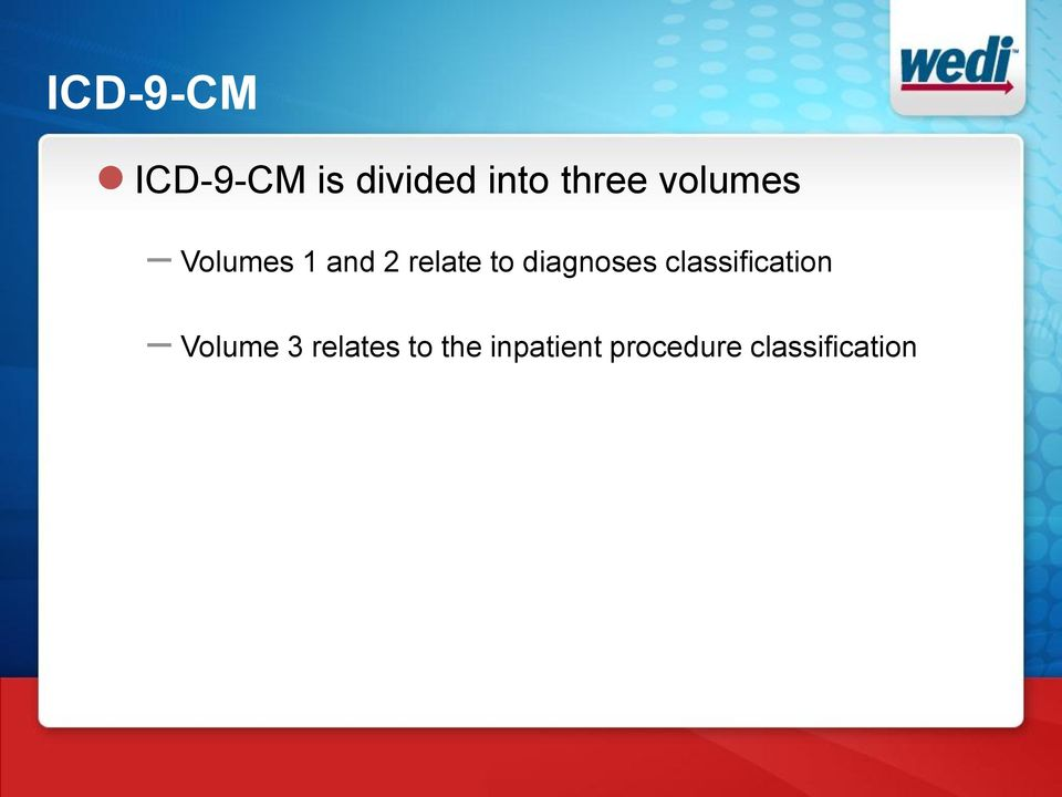 diagnoses classification Volume 3