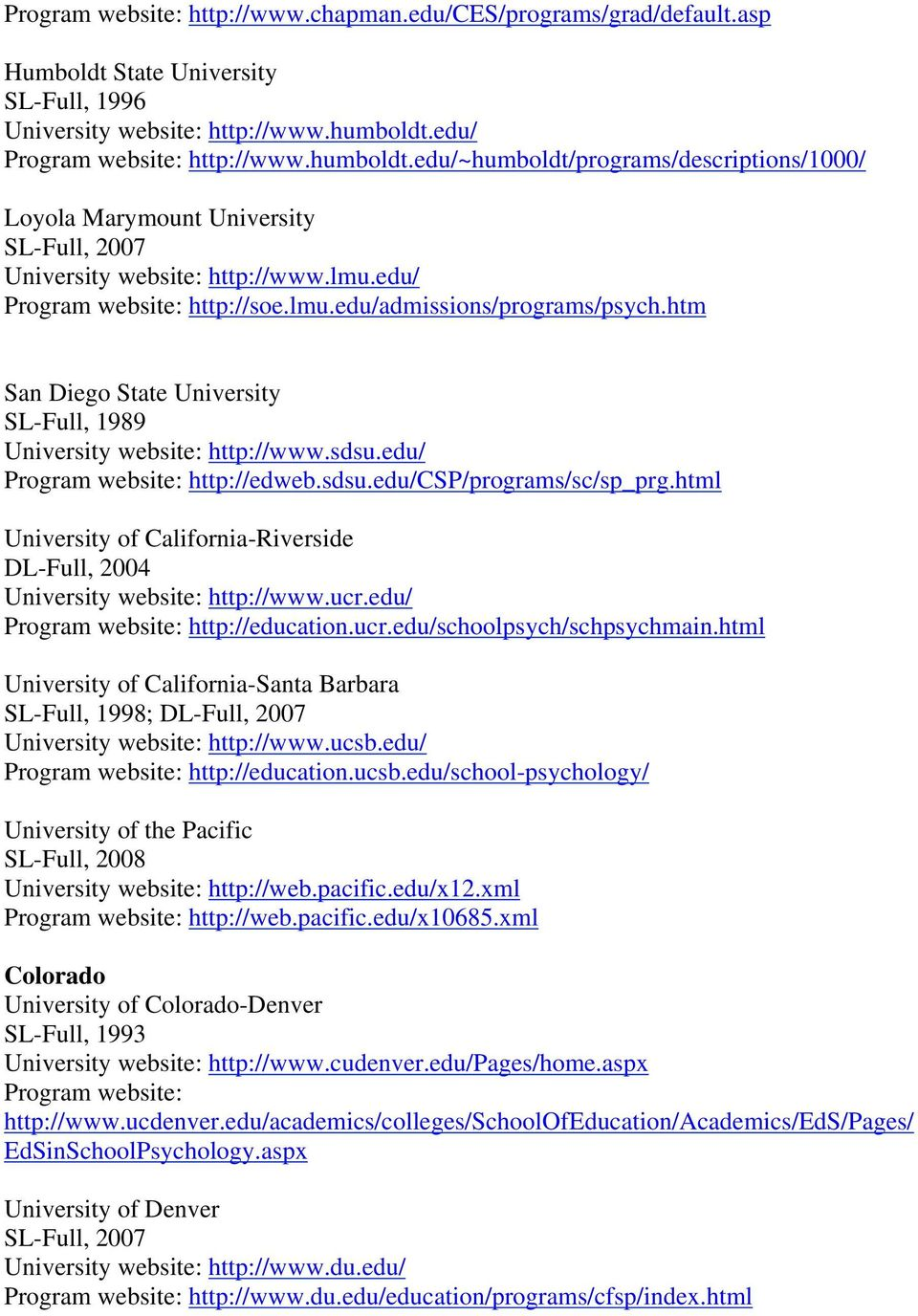 htm San Diego State University SL-Full, 1989 University website: http://www.sdsu.edu/ http://edweb.sdsu.edu/csp/programs/sc/sp_prg.