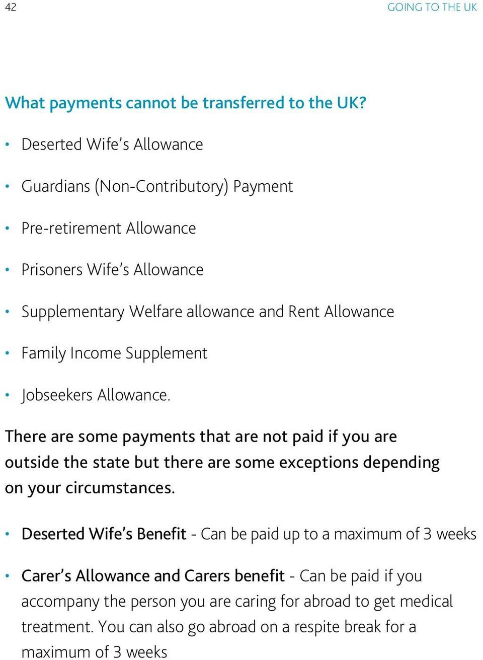 Family Income Supplement Jobseekers Allowance.