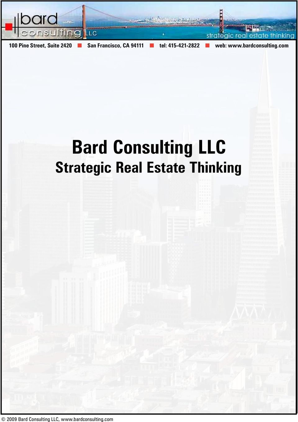 415-421-2822 web: www.bardconsulting.