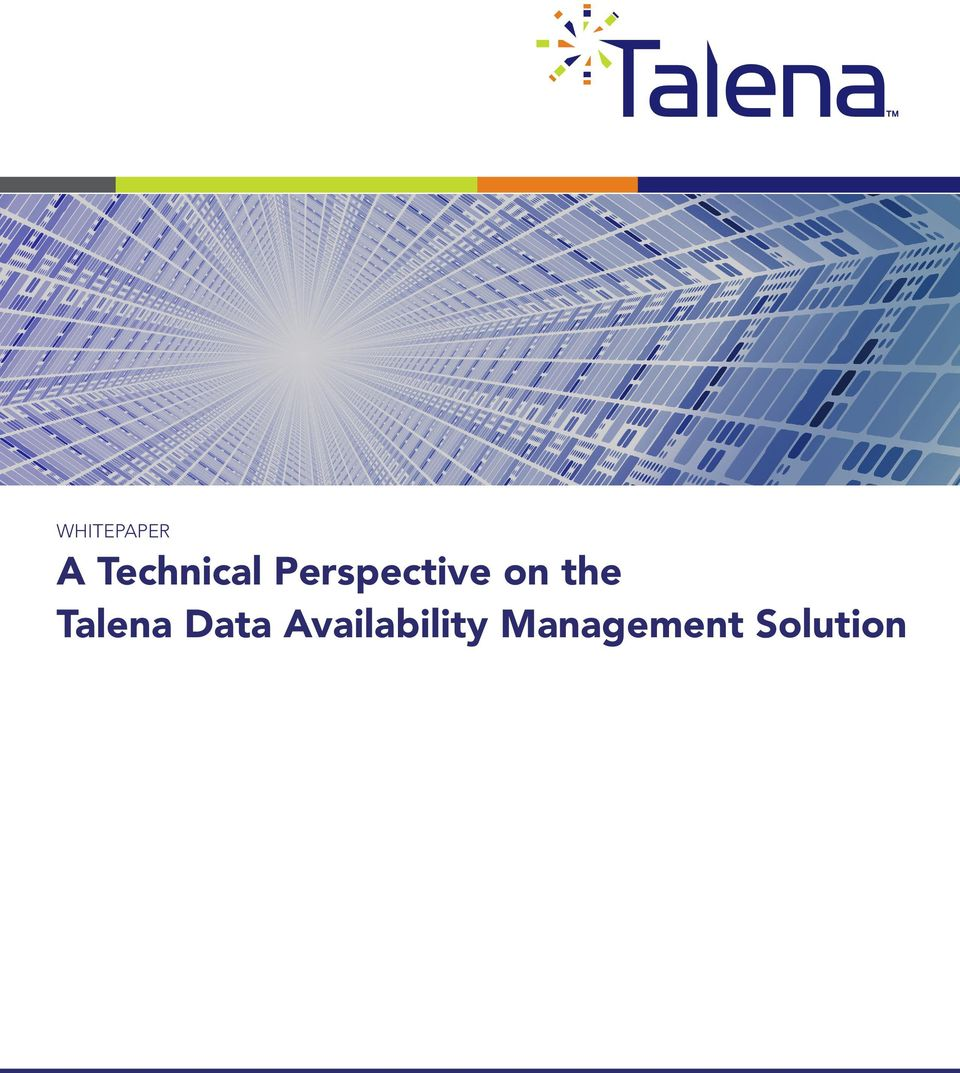 on the Talena Data