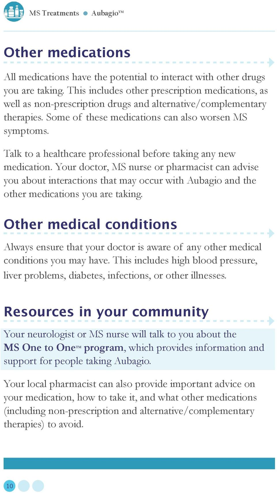 Talk to a healthcare professional before taking any new medication.