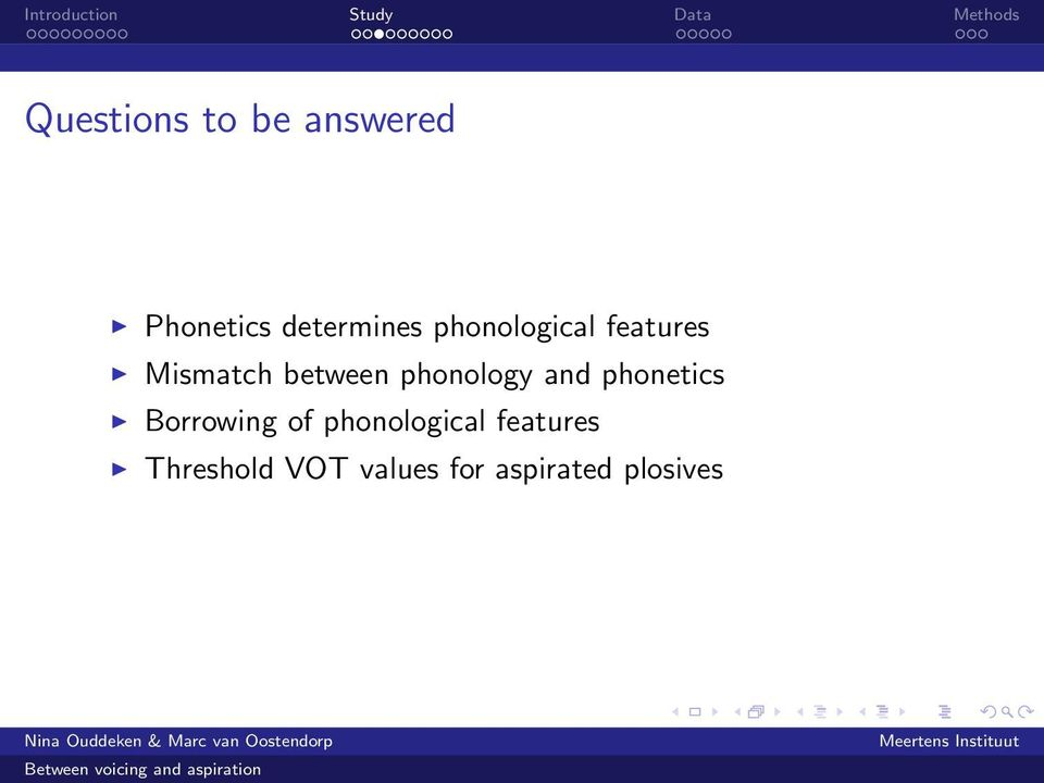 phonology and phonetics Borrowing of
