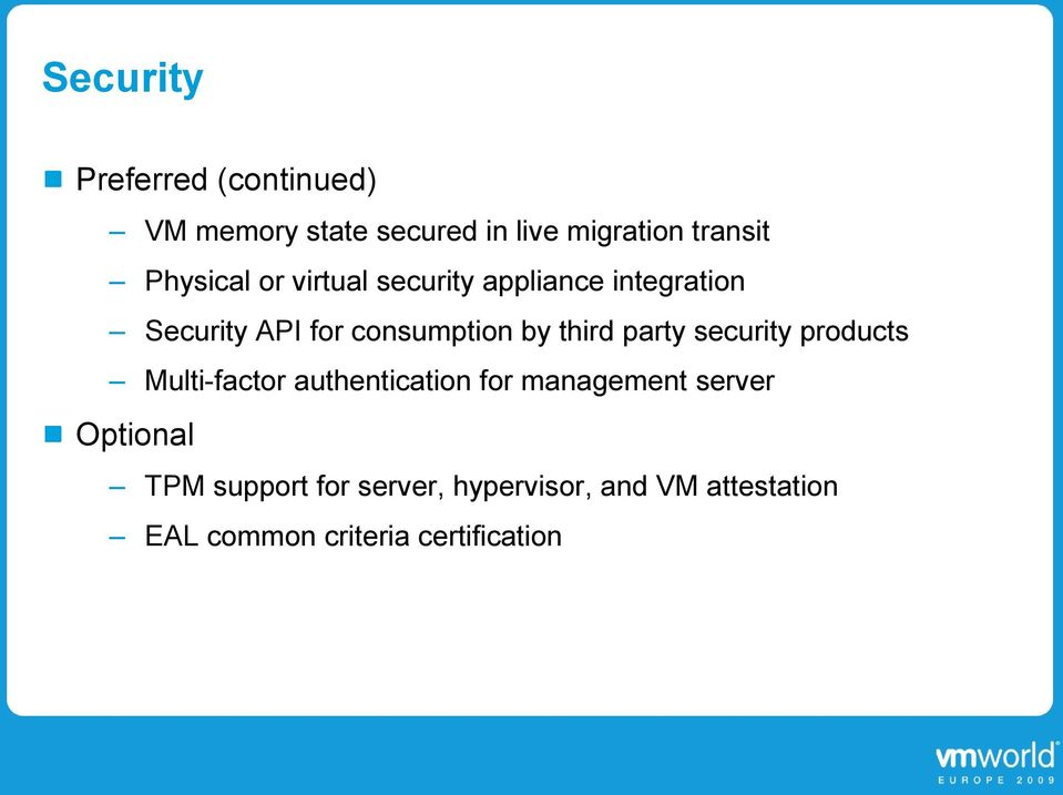 third party security products Multi-factor authentication for management server
