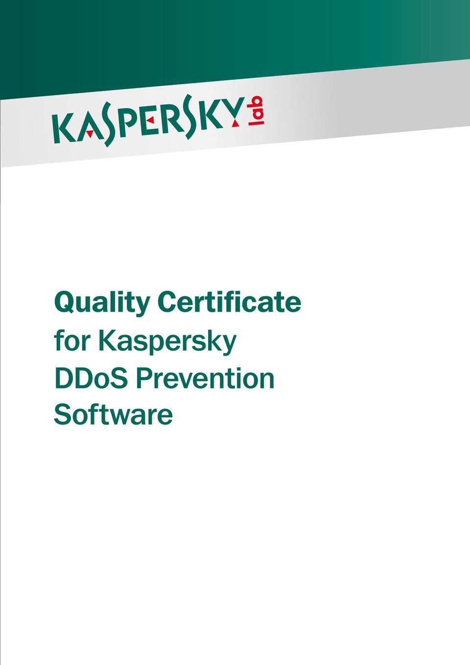 for Kaspersky