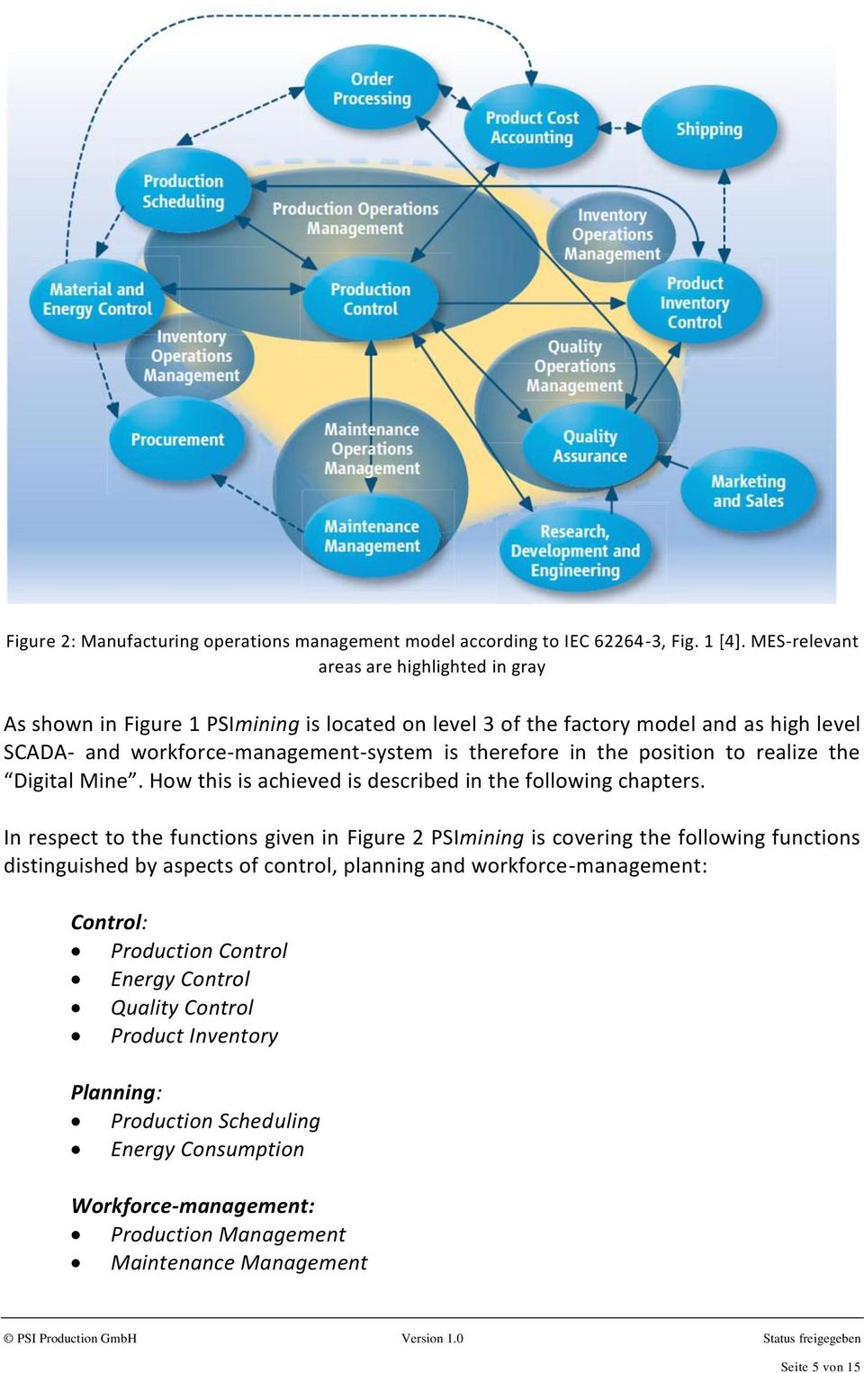 in the position to realize the Digital Mine. How this is achieved is described in the following chapters.