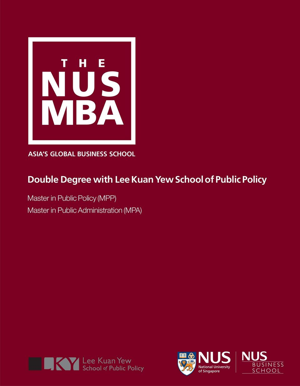 Public Policy Master in Public Policy