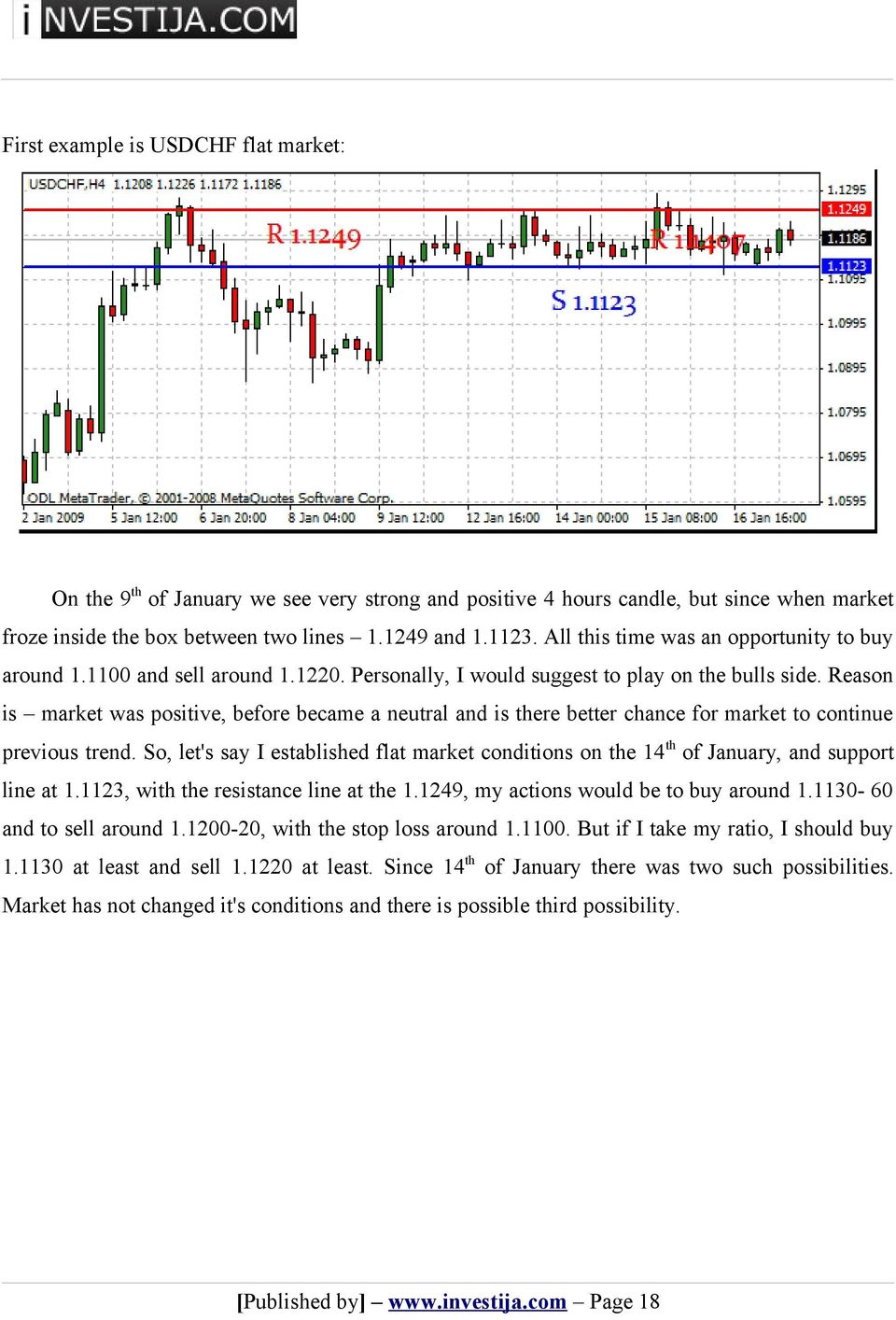 Reason is market was positive, before became a neutral and is there better chance for market to continue previous trend.