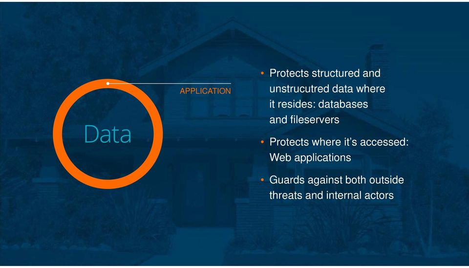 Protects where it s accessed: Web applications