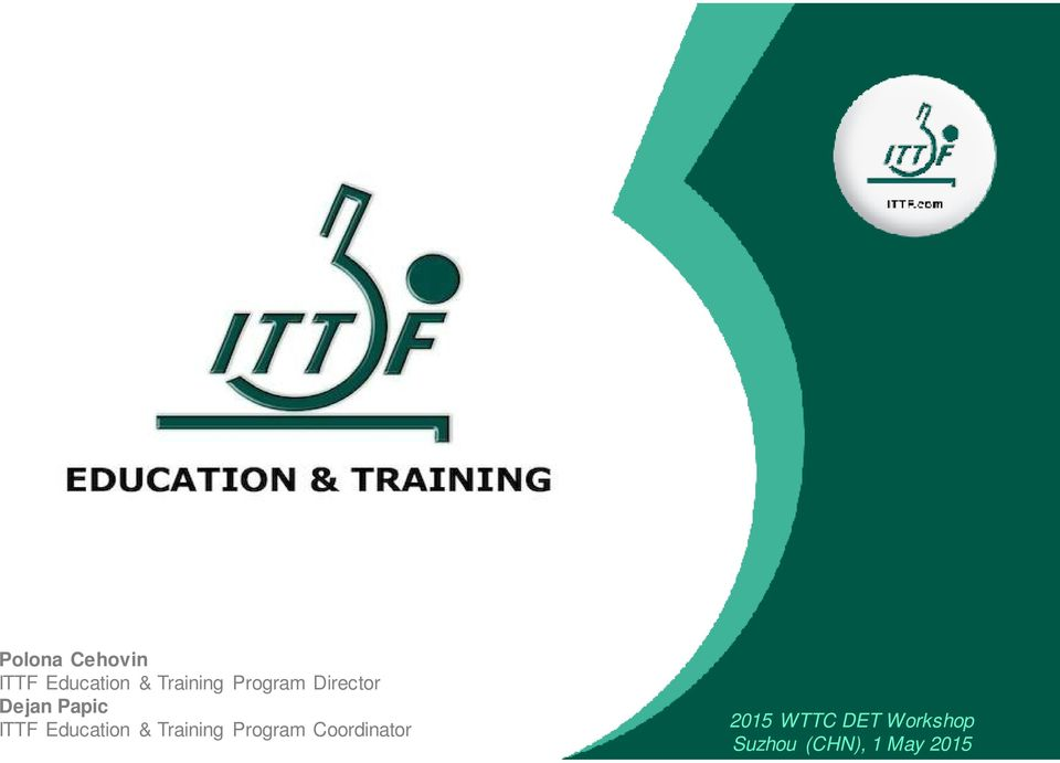 Education & Training Program Coordinator