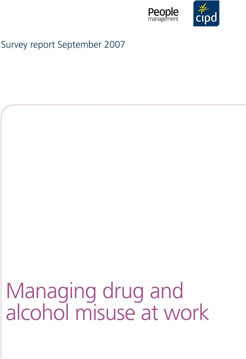 Managing drug and