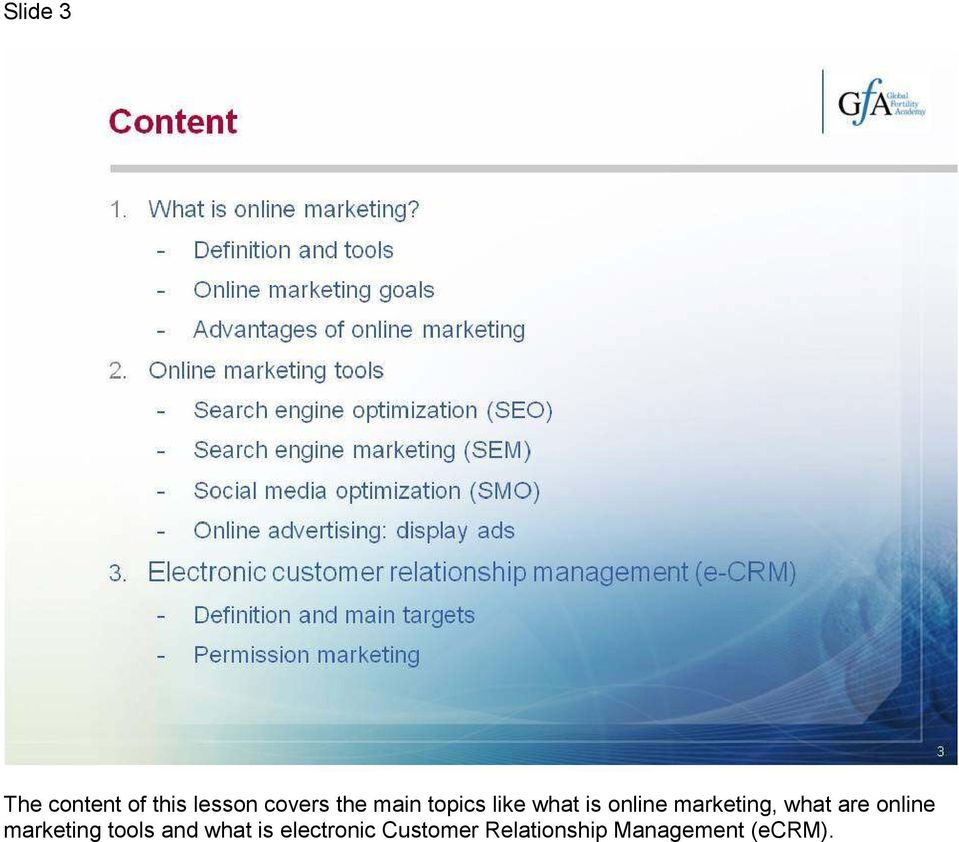what are online marketing tools and what is