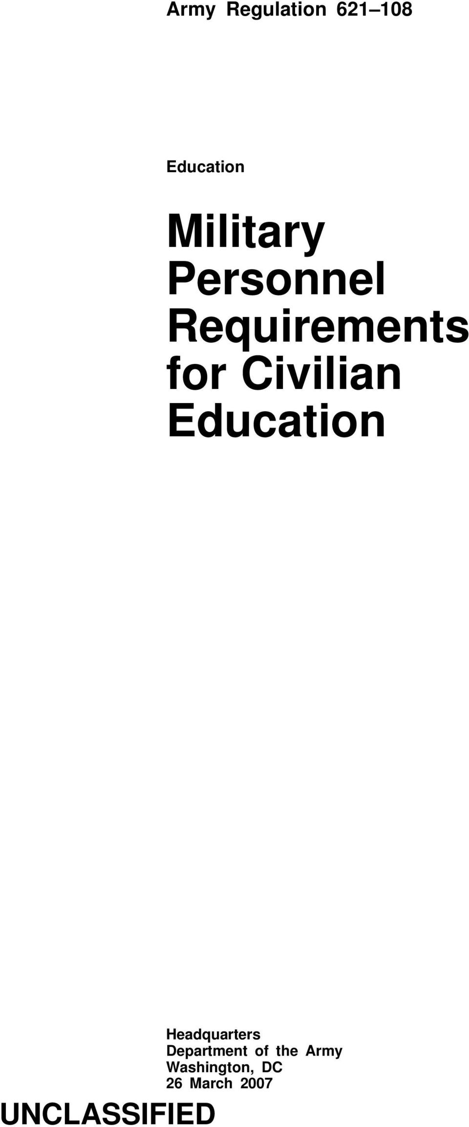 Civilian Education Headquarters