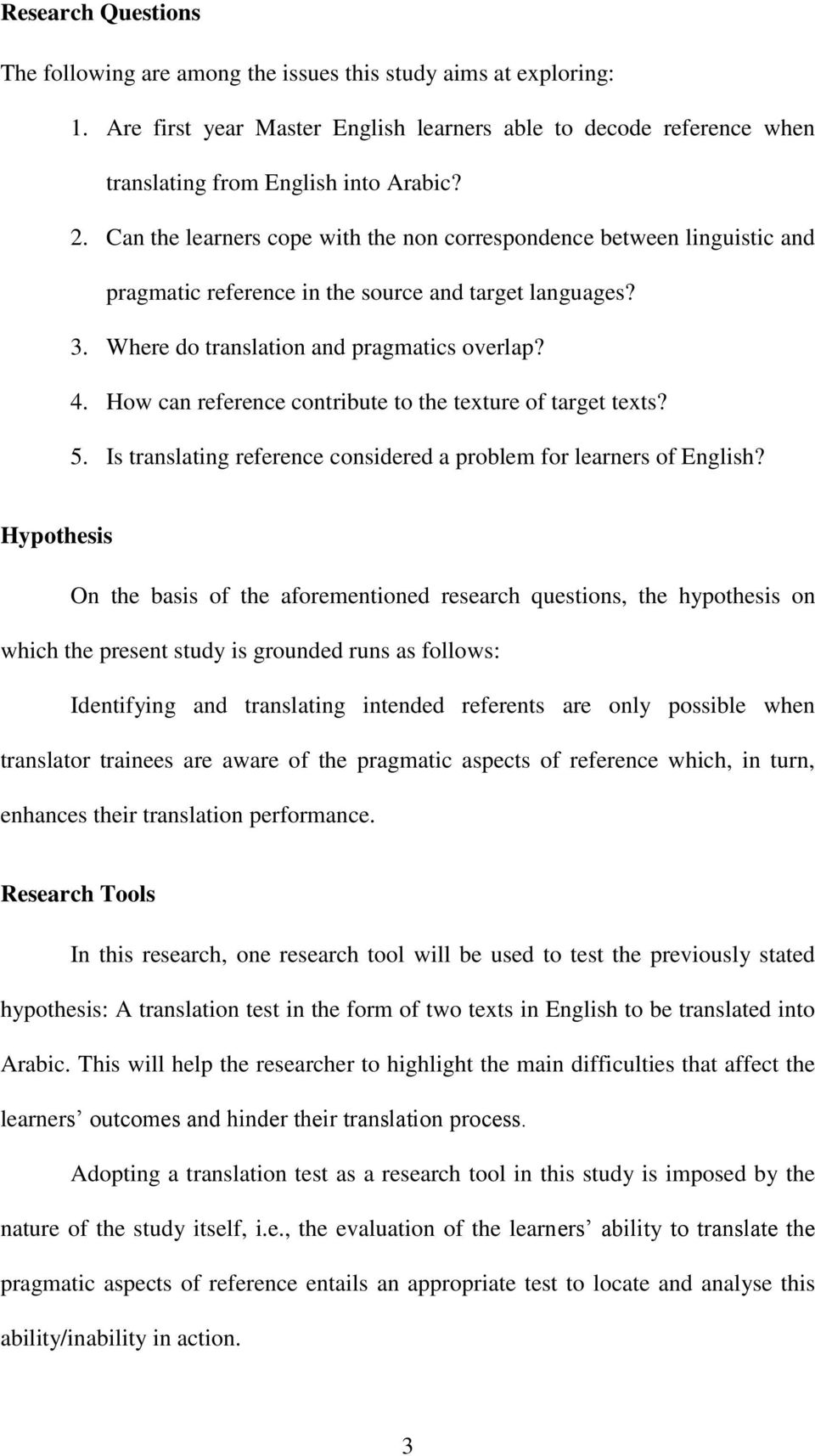 How can reference contribute to the texture of target texts? 5. Is translating reference considered a problem for learners of English?
