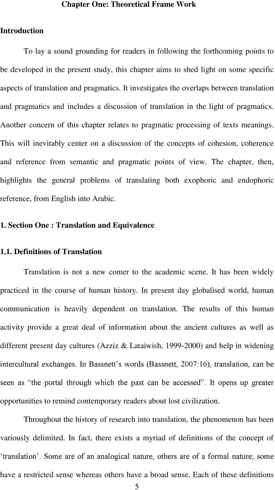 Another concern of this chapter relates to pragmatic processing of texts meanings.