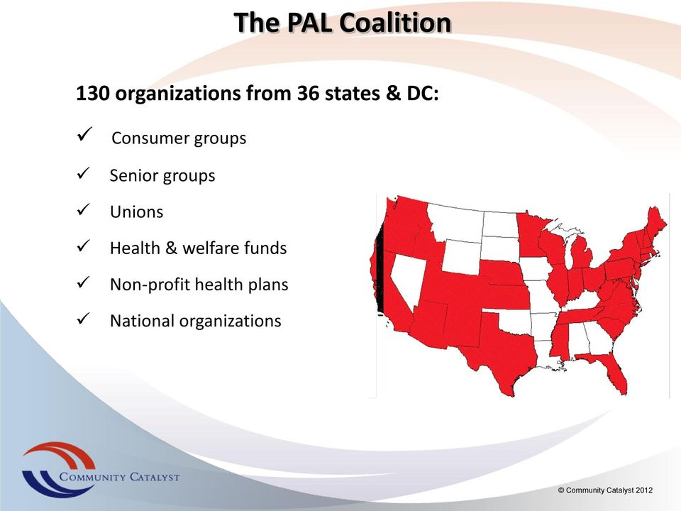 groups Unions Health & welfare funds