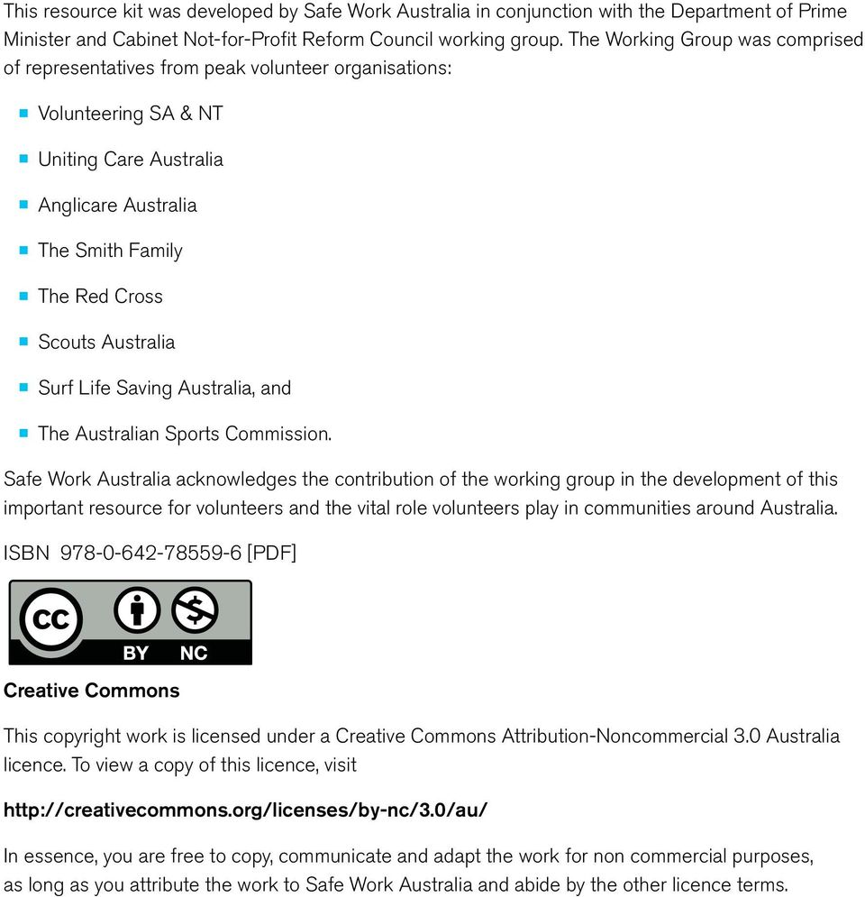 Surf Life Saving Australia, and The Australian Sports Commission.