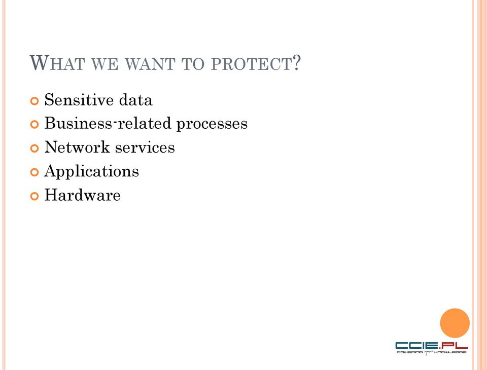Business-related processes