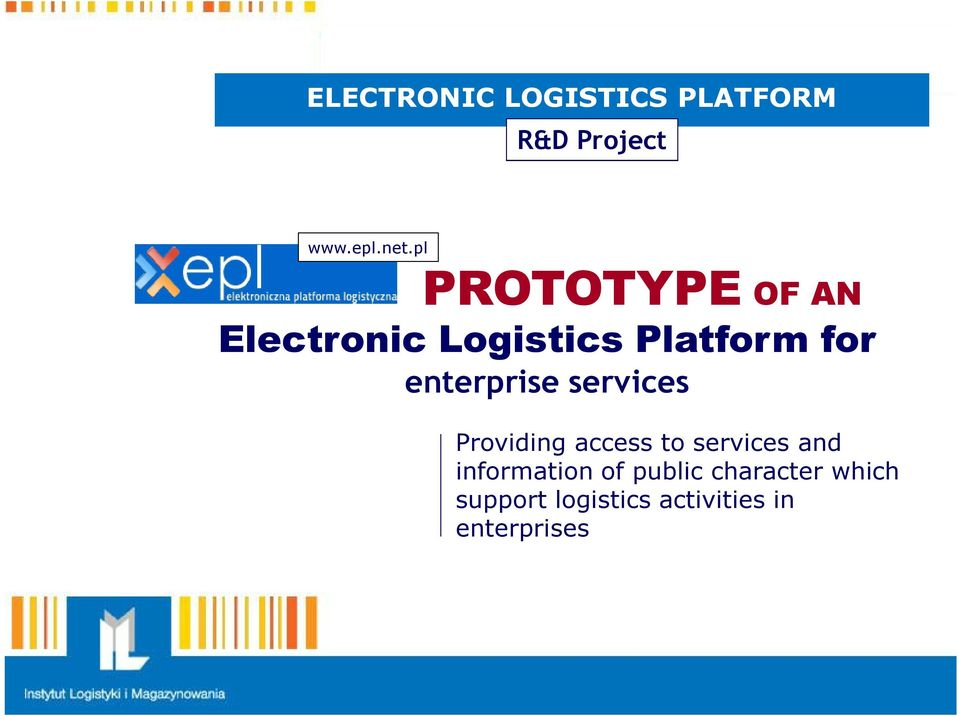 enterprise services Providing access to services and