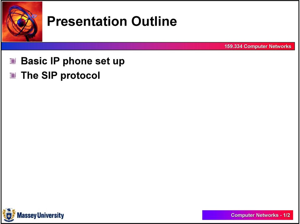 up The SIP protocol