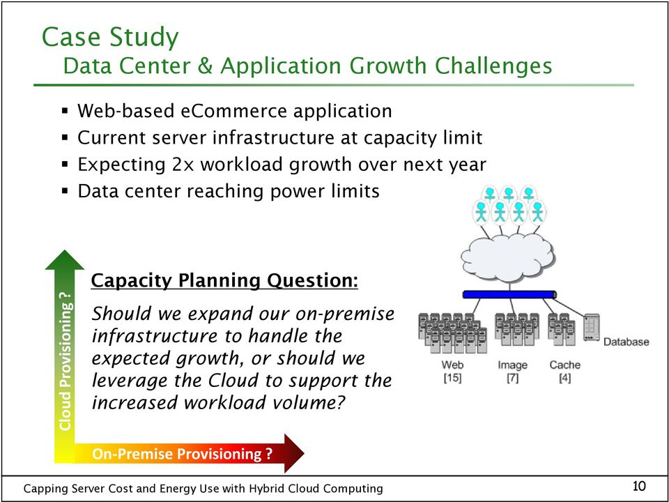limits Capacity Planning Question: Cloud Provisioning?