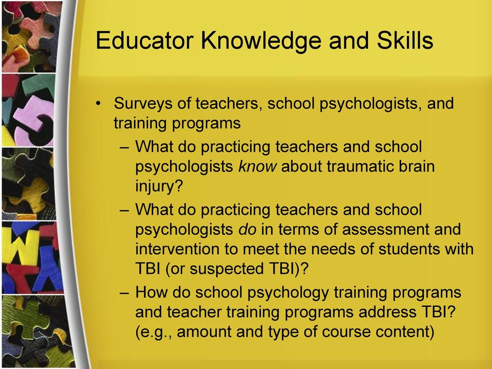 What do practicing teachers and school psychologists do in terms of assessment and intervention to meet the needs of