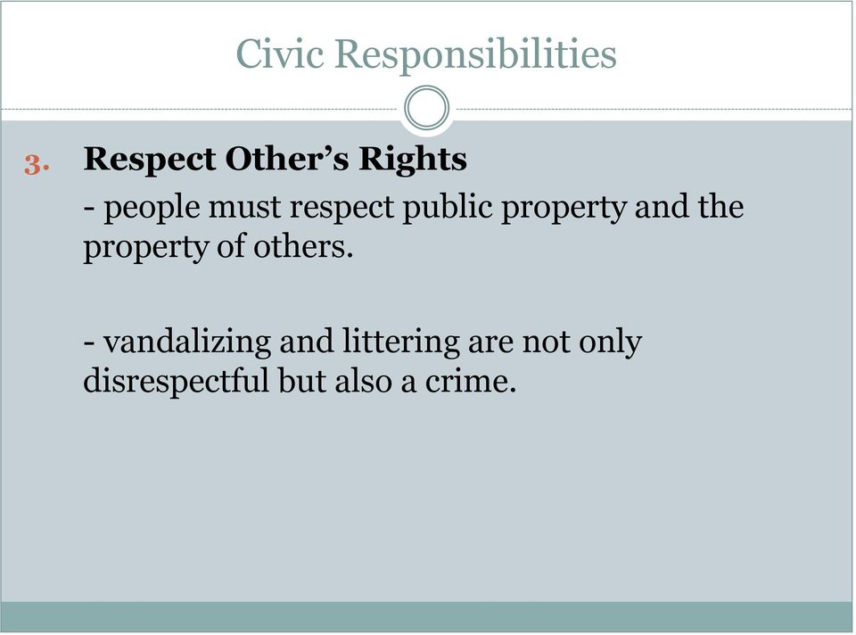 public property and the property of others.
