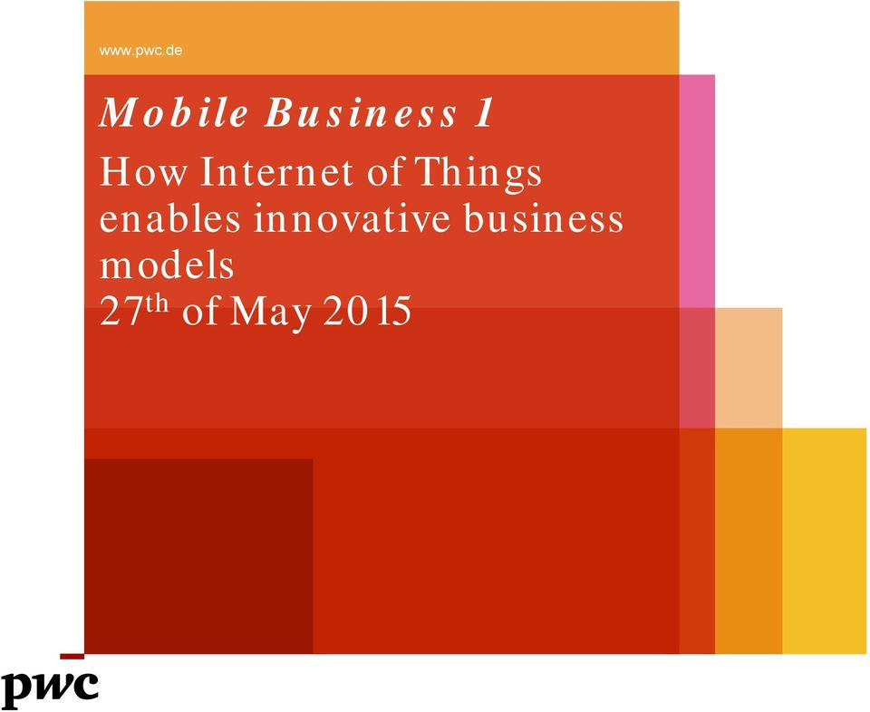 How Internet of Things