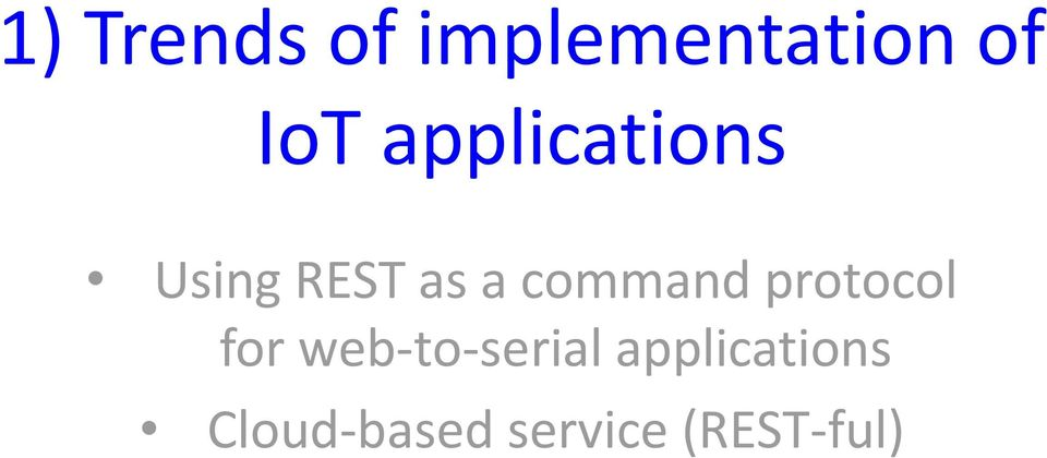 command protocol for web-to-serial